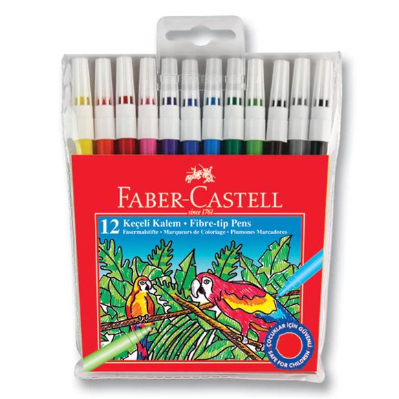 Faber Castell Keçeli Kalem 12 Renk 155130