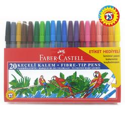 Faber Castell Keçeli Kalem 20'li Poşet - Thumbnail
