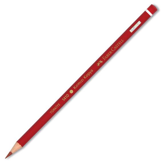 Faber Castell Kopya Boya Kalemi Kırmızı