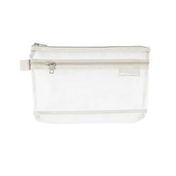 Faber Castell Mesh Dosya Küçük Çift Cep Gri 000118 - Thumbnail