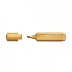 Faber Castell Metalik Fosforlu Kalem Altın 154650 - Thumbnail