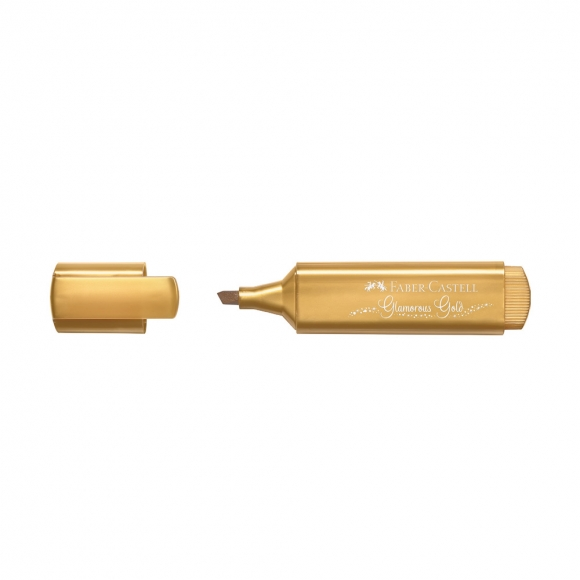 Faber Castell Metalik Fosforlu Kalem Altın 154650