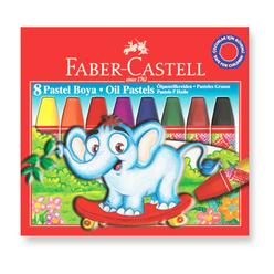 Faber Castell Pastel Boya 8 Renk 125308 - Thumbnail