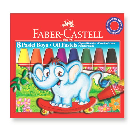 Faber Castell Pastel Boya 8 Renk 125308
