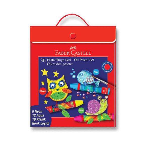 Faber Castell Pastel Boya Karışık Set 36 Renk 125340