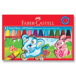 Faber Castell Pastel Boya Karton Kutu 12 Renk 125312 - Thumbnail