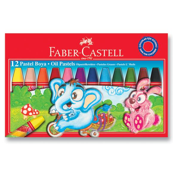 Faber Castell Pastel Boya Karton Kutu 12 Renk 125312