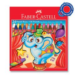 Faber Castell Pastel Boya Karton Kutu 24 Renk - Thumbnail