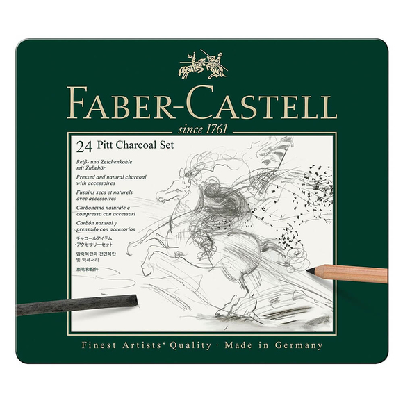 Faber Castell Pitt Charcoal Seti 112978