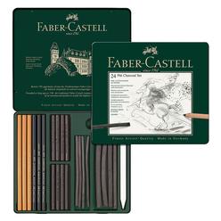 Faber Castell Pitt Charcoal Seti 112978 - Thumbnail