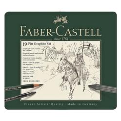 Faber Castell Pitt Grafit Seti 112973 - Thumbnail