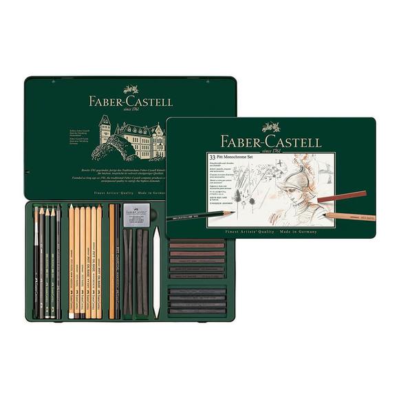 Faber Castell Pitt Monochrome Seti 112977