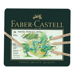 Faber Castell Pitt Pastel Boya Kalemi 24 Renk 112124 - Thumbnail