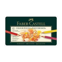 Faber Castell Polychromos Boya Kalemi 12 Renk 110012 - Thumbnail