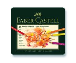 Faber Castell Polychromos Boya Kalemi 24 Renk 110024 - Thumbnail