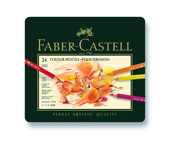 Faber Castell Polychromos Boya Kalemi 24 Renk 110024