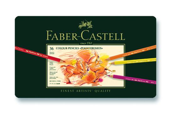Faber Castell Polychromos Boya Kalemi 36 Renk 110036