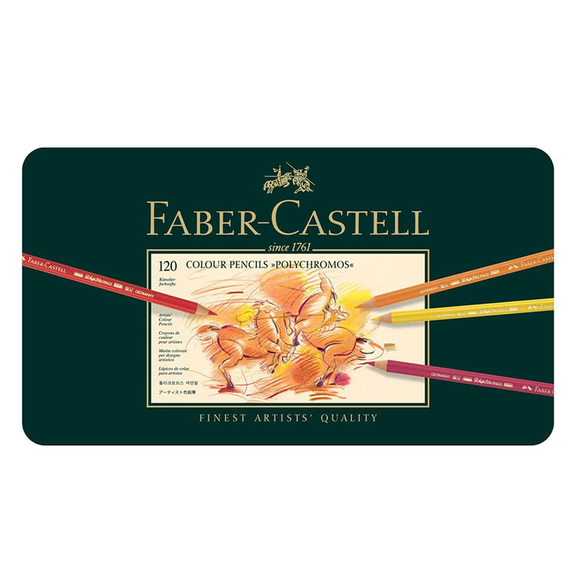 Faber Castell Polychromos Kuru Boya Kalem 120'li 110011