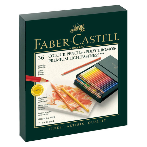 Faber Castell Polychromos Kuru Boya Kalemi 36 Renk 110038