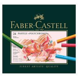 Faber Castell Polychromos Pastel Boya 24 Renk 128524 - Thumbnail