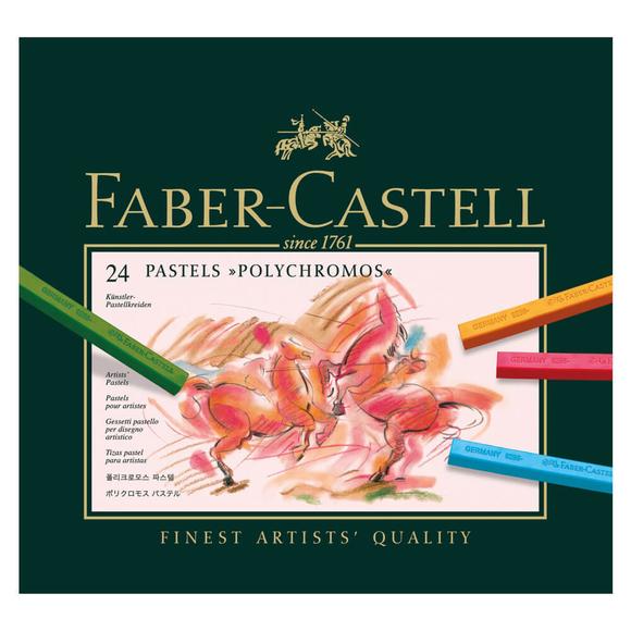 Faber Castell Polychromos Pastel Boya 24 Renk 128524