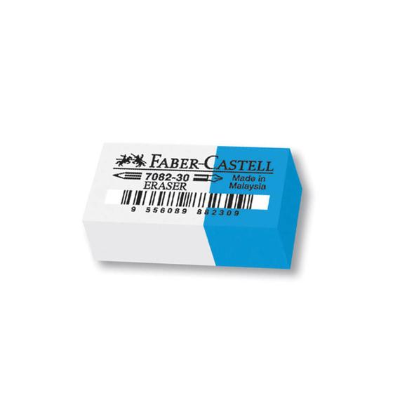 Faber Castell Silgi Mavi-Beyaz 7082/30
