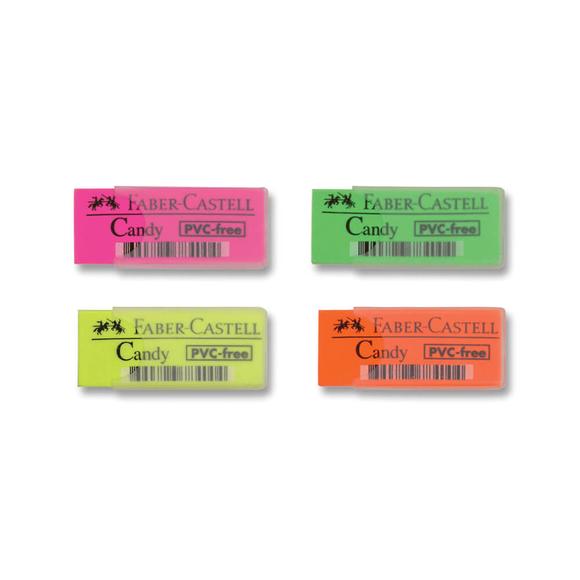 Faber Castell Silgi Plastik Kılıflı Candy 784000