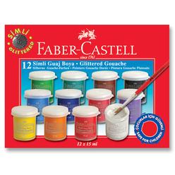 Faber Castell Simli Guaj Boya 12 Renk - Thumbnail