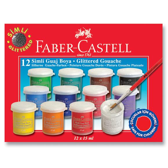 Faber Castell Simli Guaj Boya 12 Renk