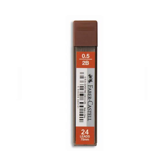 Faber Castell Super Fine Kalem Ucu 0.5 mm 2B