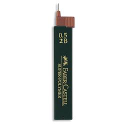 Faber Castell Süper Polymer Kalem Ucu 0.5 mm 2B 120502 - Thumbnail