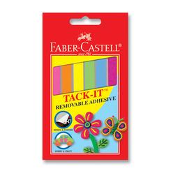 Faber Castell Tack-it Hamur Yapıştırıcı 50 gr Karışık Renkli - Thumbnail