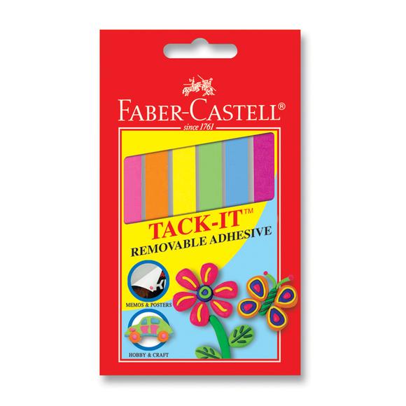Faber Castell Tack-it Hamur Yapıştırıcı 50 gr Karışık Renkli