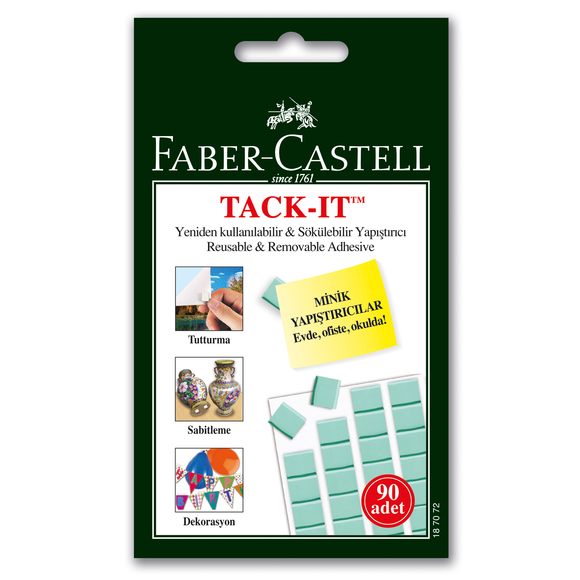 Faber Castell Tack-it Hamur Yapıştırıcı 50 gr Yeşil