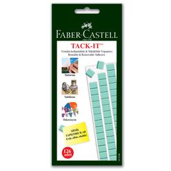 Faber Castell Tack-it Hamur Yapıştırıcı 75 gr Yeşil - Thumbnail