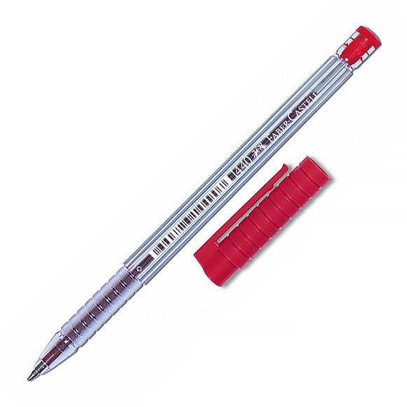 Faber Castell Tükenmez Kalem 1.0 mm Kırmızı 140021
