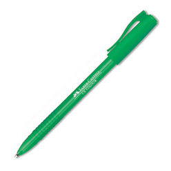 Faber Castell Tükenmez Kalem 1.00 mm Yeşil 247063 - Thumbnail