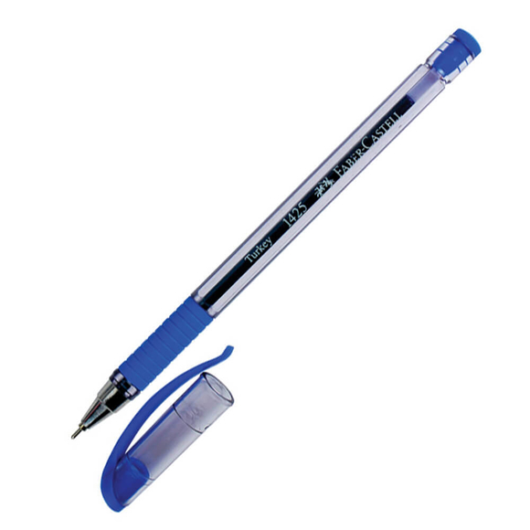Faber Castell Tükenmez Kalem İğne Uçlu Mavi 142551