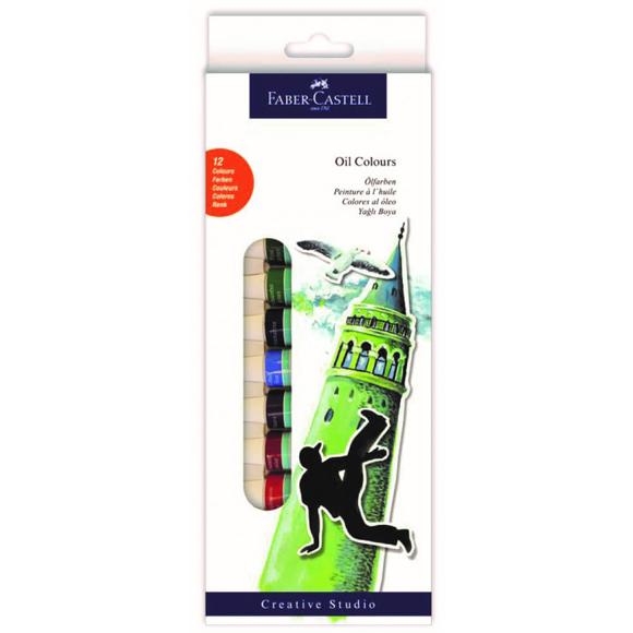 Faber CastellTüp Yağlı Boya 12 Renk 12 ml 169502