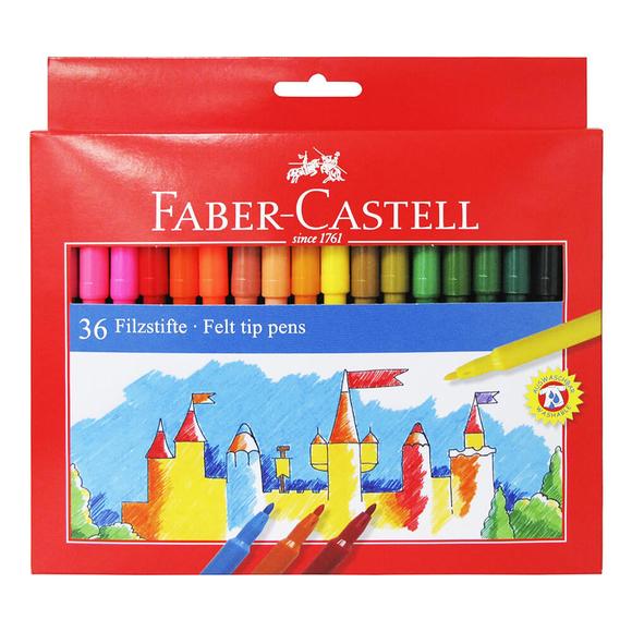 Faber Castell Unicolor Keçeli Kalem 36 Renk 554236