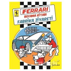 Ferrari Boyama Kitabı: Fabrika Ziyareti - Thumbnail