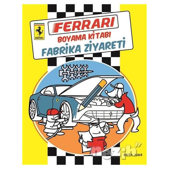 Ferrari Boyama Kitabı: Fabrika Ziyareti