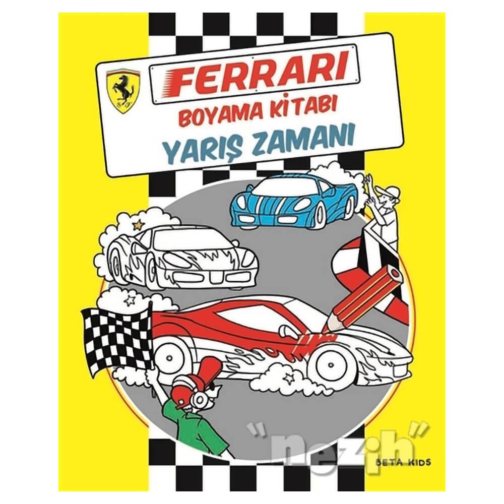 Ferrari Spor Araba Boyama Boyama Sayfasi