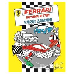 Ferrari Boyama Kitabı: Yarış Zamanı - Thumbnail