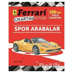 Ferrari Çıkartma Kitabı: Spor Arabalar - Thumbnail