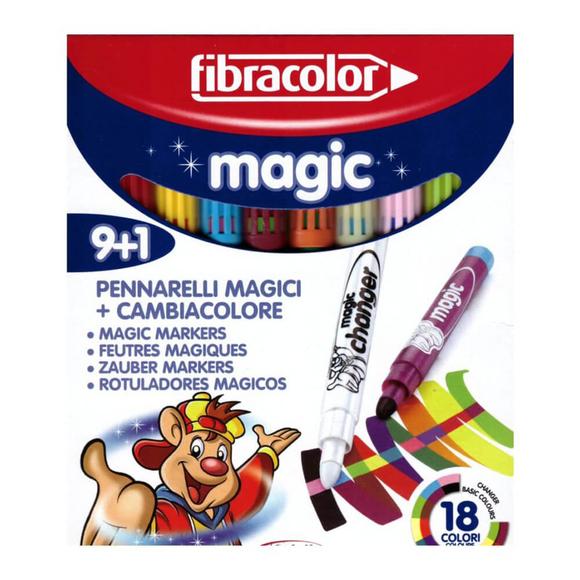 Fibracolor Magic Renk Değiştiren Keçeli Kalem 9+1 10540MA