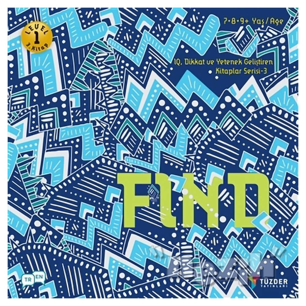 Find Iq Dikkat Ve Yetenek Gelistiren Kitaplar Serisi 3 Level 1