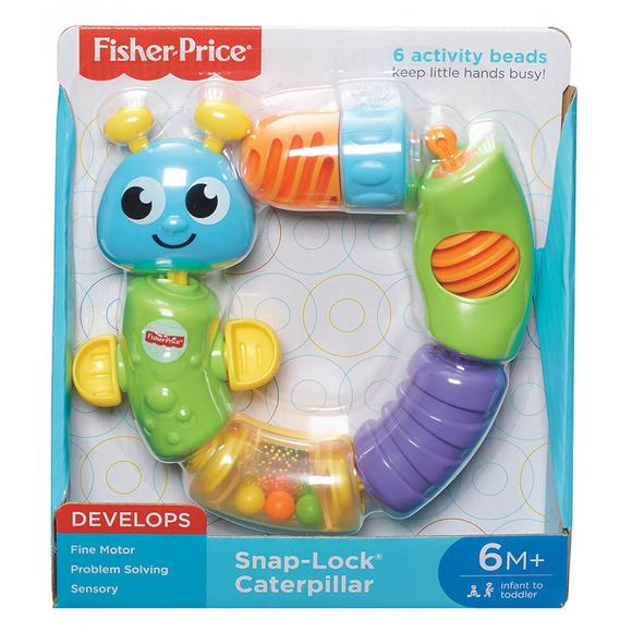 Fisher Price Renkli Tırtıl W9834