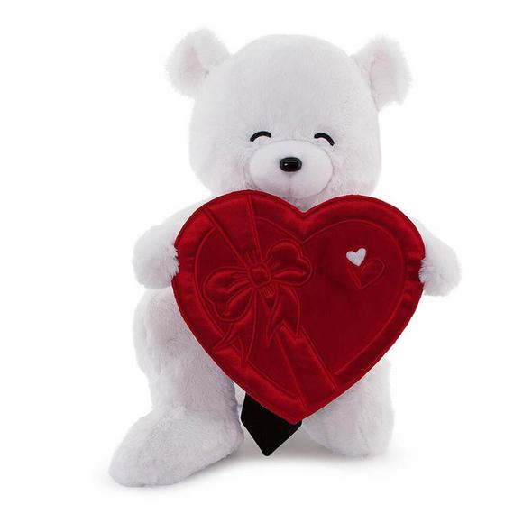 Fluffy Kalp Kutu Flamalı Serenat Ayı 55 cm 520266