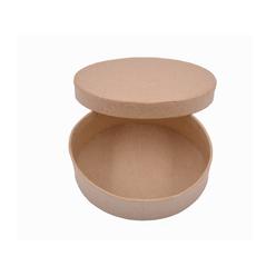 Folia Pappboxen Mini Oval Kraft Kutu 3322 - Thumbnail